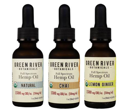 Green River Botanicals Organic Hemp Oil Flavors subscriptions