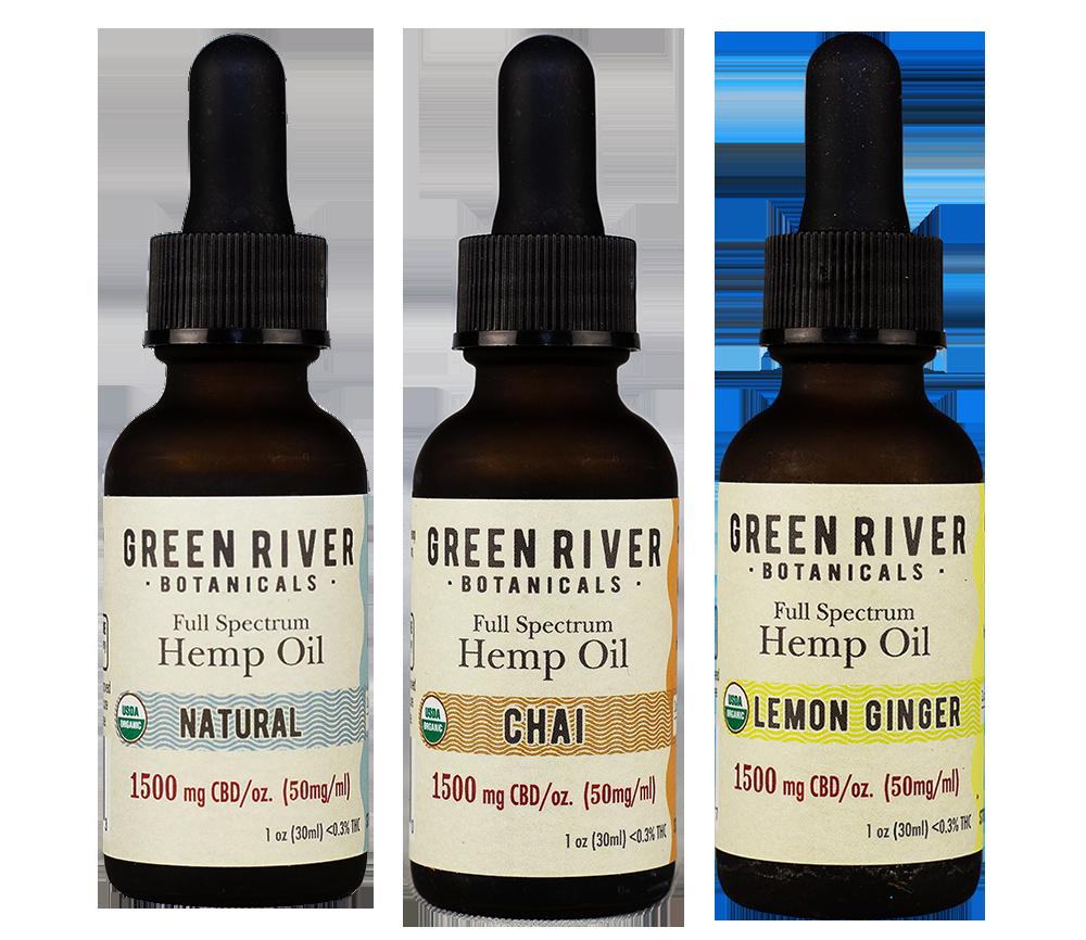 Green River Botanicals Organic Hemp Oil Flavors subscriptions