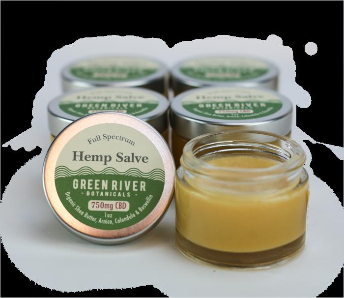 Green River Botanicals Herbal Relief Salve