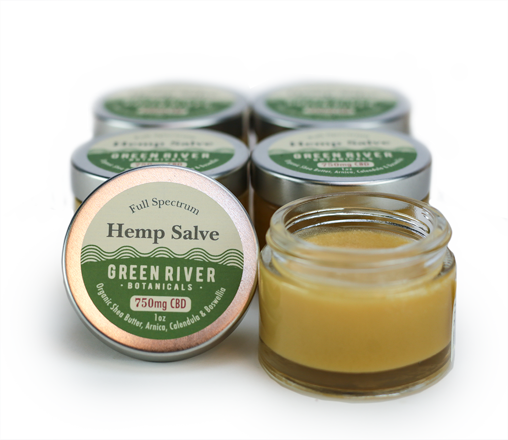 Green River Botanicals Herbal Relief Salve