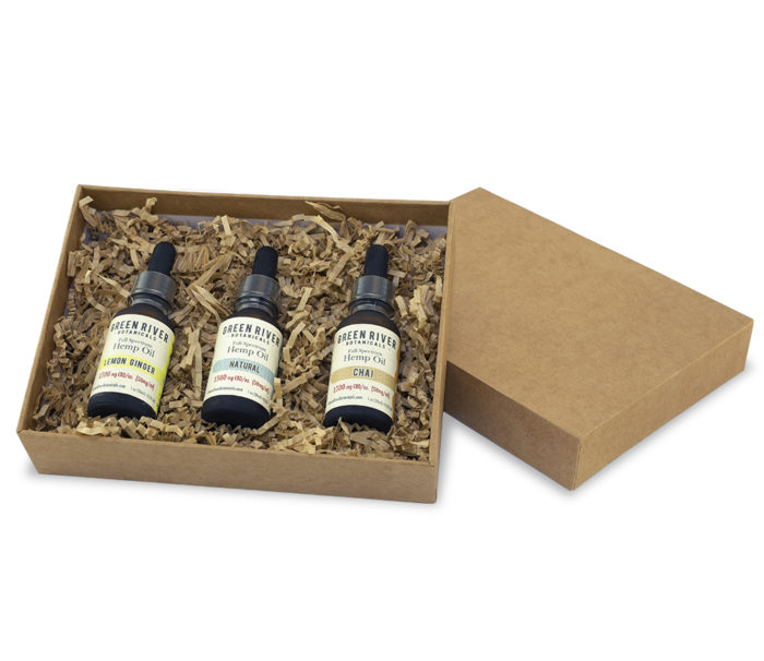 Green River Botanicals Hemp Oil Trio Sampler