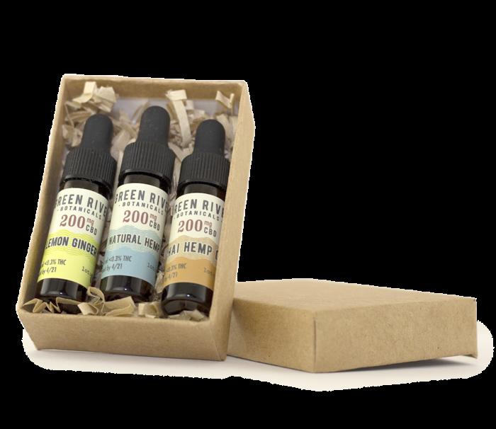 CBD tincture gift box