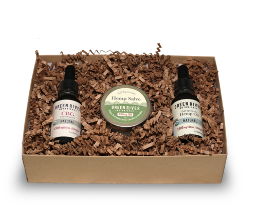 Green River Botanicals CBG Sampler