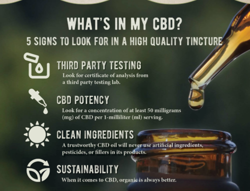 What's in My CBD? 5 Signs to Look For in a High Quality Tincture